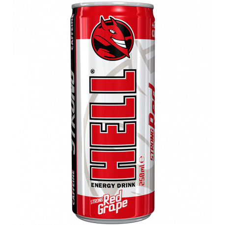 Hell Strong Red Grape 250ml