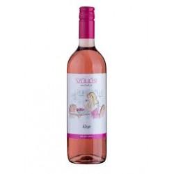 Rubin rosé 2016 -rosé polosuché perlivé víno 0,75L 12%